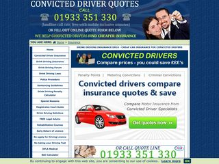 Insurance for Convicted Drivers