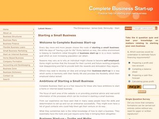 Business Start up Resources