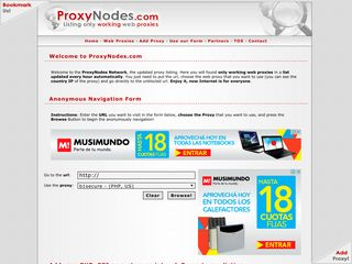 Proxies > Web Proxies Category - Internet & Business Directory