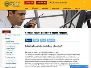 Criminal Justice Degrees in CT