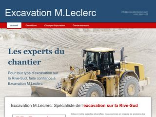 Excavation M. Leclerc