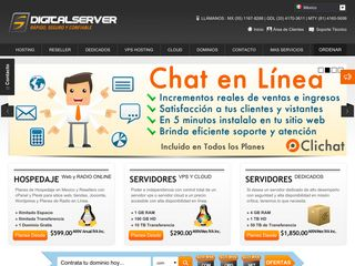 DigitalServer Web Hosting en México