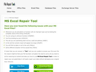 MS Excel Repair Tool - Repair Corrupt Excel (.xls or .xlsx) File