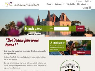 Book your wine tour with Bordeaux Wine Trails