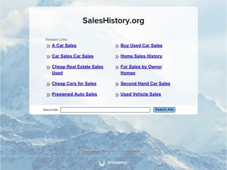 Sales History Archive