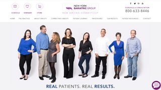 New York Bariatric Group offering Bariatric Surgery