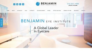 LASIK Los Angeles - Benjamin Eye Institute