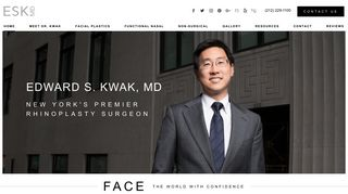Rhinoplasty New York City - Dr. Edward Kwak