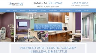 Plastic Surgery Seattle - Dr. James Ridgway