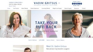 Bariatric Surgery NJ - Dr. Vadim Gritsus