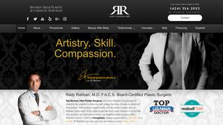 Rhinoplasty Surgeon in Beverly Hills - Dr. Rady Rahban