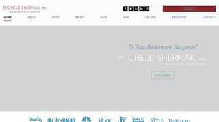 Baltimore Plastic Surgery, Dr. Michele Shermak