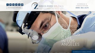 ENT Specialist Los Angeles - Dr. Zadeh