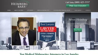 Catastrophic Injury & Medical Malpractice Lawyers - Heimberg Barr