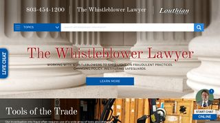 The Whistleblower Lawyer