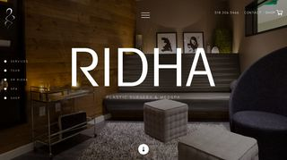 Spas in Saratoga Springs - Ridha Plastic Surgery & MedSpa