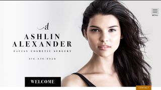 Facial Plastic Surgeon Toronto - Dr. Ashlin Alexander