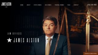 Federal Criminal Defense Lawyer in Houston: James Alston