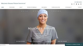 Eye Doctor Los Angeles | Maloney - Shamie Vision Institute