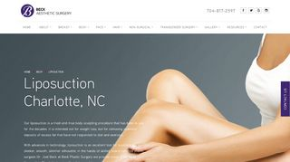 Liposuction Charlotte - Dr. Joel Beck
