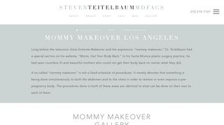 Mommy Makeover Los Angeles - Dr. Steven Teitelbaum