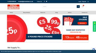 #1 for Price Labels, Price Tags & Pricing Stickers in the UK: Price Stickers