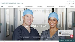 Eye Surgeons in Los Angeles - Maloney-Shamie Vision Institute