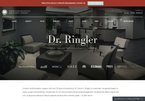 Plastic Surgery Michigan by Dr. Ringler