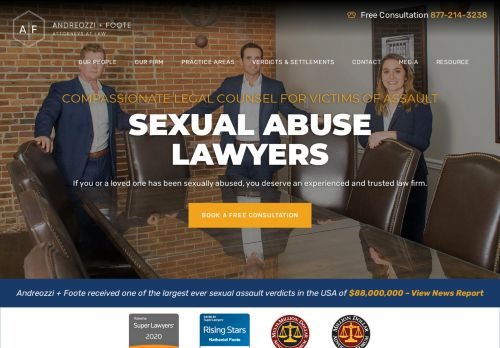 Andreozzi & Foote, P.C. Victim Abuse Lawyers