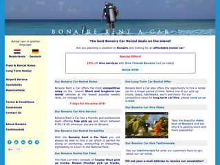 Bonaire Car Rental - Bonaire Rent a Car