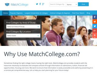 College Search - MatchCollege.com
